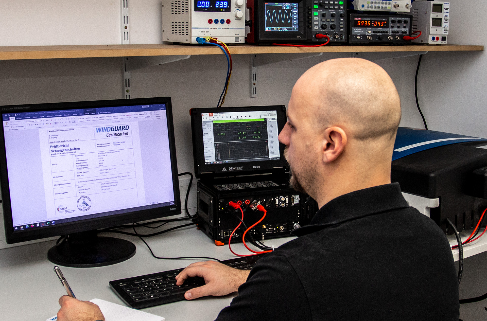 WindGuard Certification - Accredited Test Laboratory